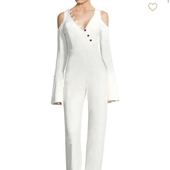 Alexis Other - ALEXIS Bali Button Bell- Sleeve Jumpsuit Size S